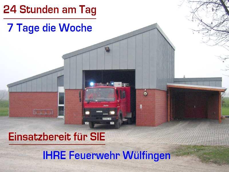 Feuerwehr Wülfingen - Einsatzbereit für Sie
